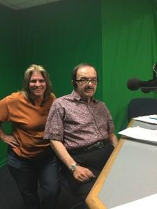 Beth and Sam of Vegas Voice Actors Radio Show.