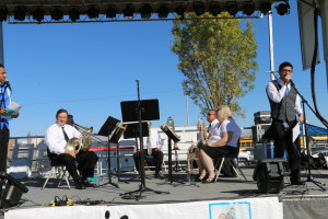 Here are a few shots of us at the 2013 Music in the Park Fest.